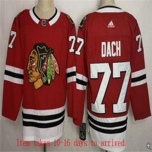 Chicago Blackhawks #77 Kirby Dach Jersey